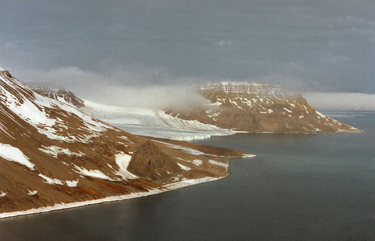 An island in the Franz Josef Land Archipelago
