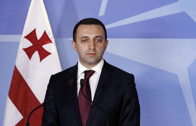 Georgian Prime Minister Irakli Gharibashvili