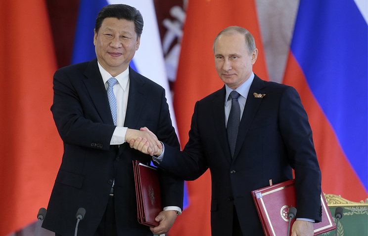 China's President Xi Jinping and Russia's President Vladimir Putin