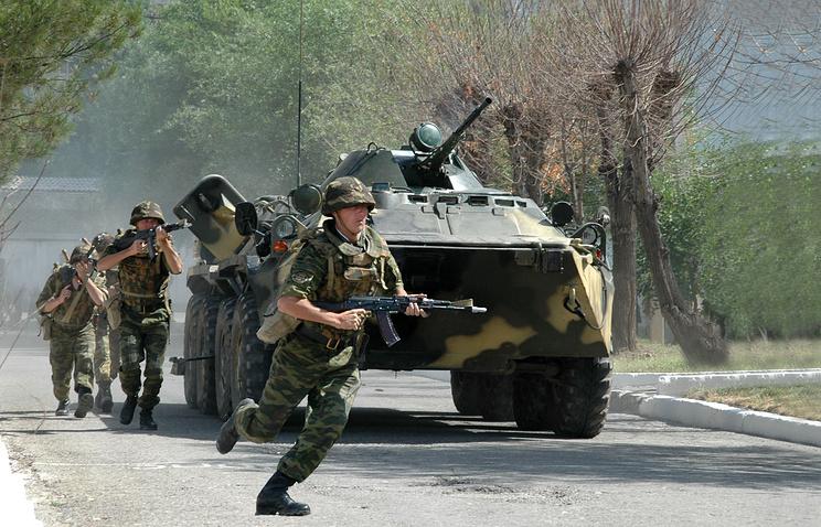 Military drills in Tajikistan (archive)