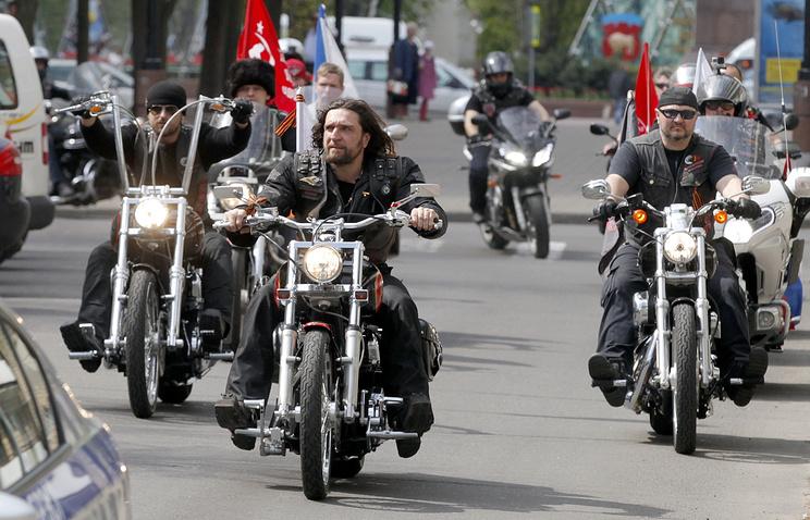 Alexander Zaldostanov, Russian bikers' club Night Wolves leader (front)