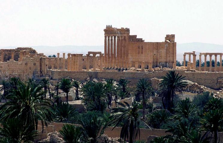 The ancient city of Palmyra