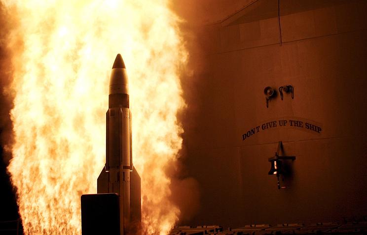 SM-3 missile launch (archive)