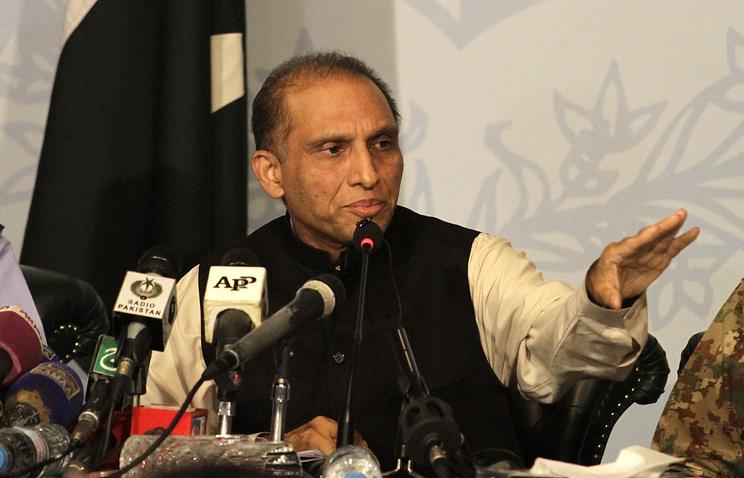 Pakistan's First Deputy Foreign Minister Aizaz Ahmad Chaudhry