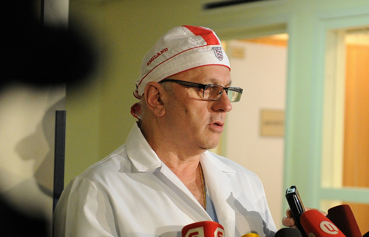 Anzor Khubutia, director of the Moscow-based Sklifosovsky emergency hospital