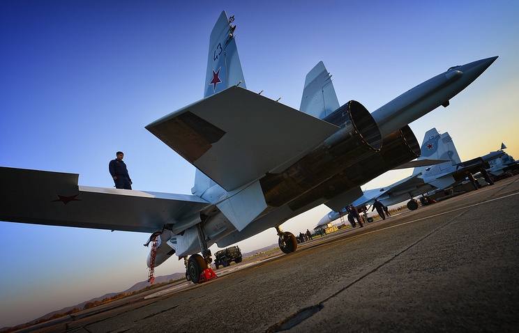 Su-30M2 fighter jets