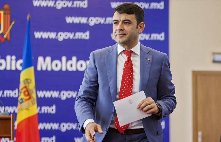 Moldova's Prime Minister Chiril Gaburici