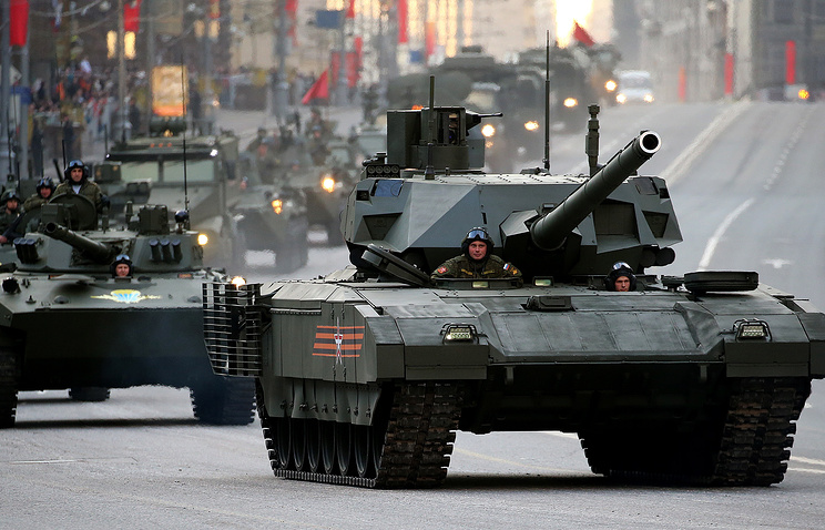 Russia's new Armata tank