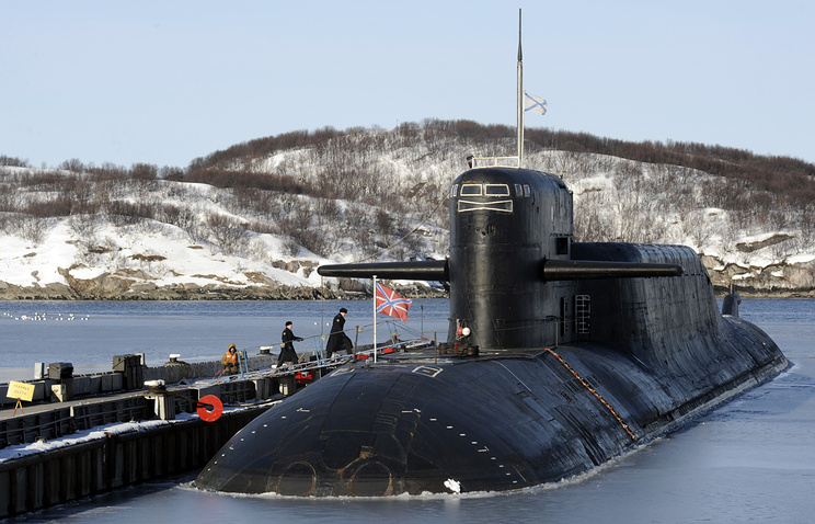 A Russian submarine (archive)