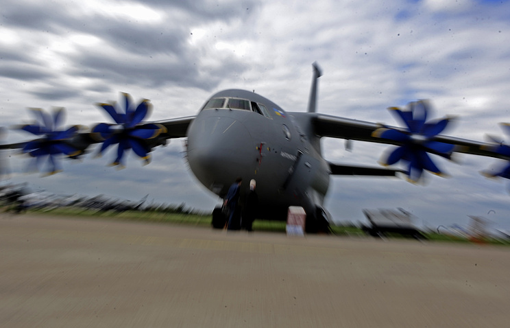 Antonov An-70 plane