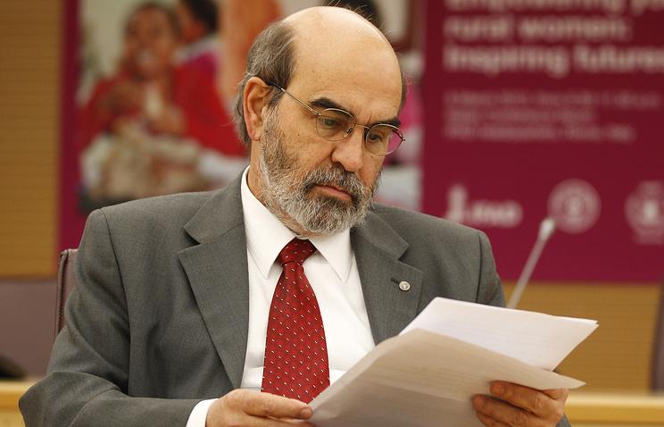 Food and Agriculture Organization director Jose Graziano da Silva