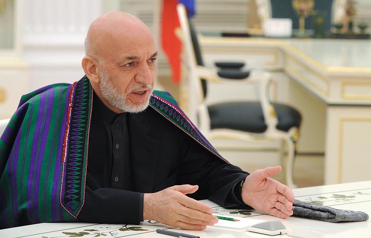 Afghanistan's Former President Hamid Karzai