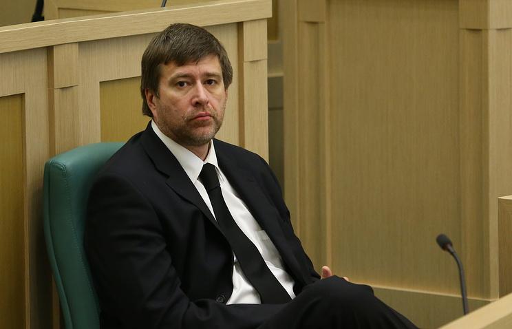 Russian Justice Minister Alexander Konovalov
