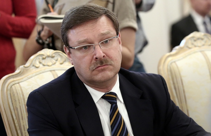 Head of the Federation Council Committee on International Affairs Konstantin Kosachev
