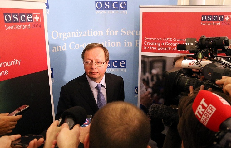 Russia's OSCE envoy Andrey Kelin