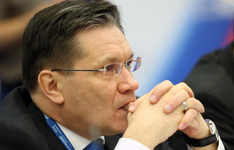 Russian First Deputy Economic Development Minister Alexey Likhachev