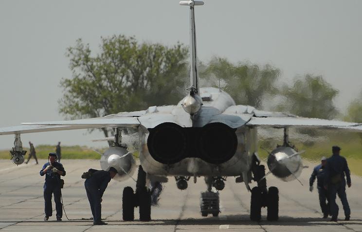 Su-24M plane (archive)