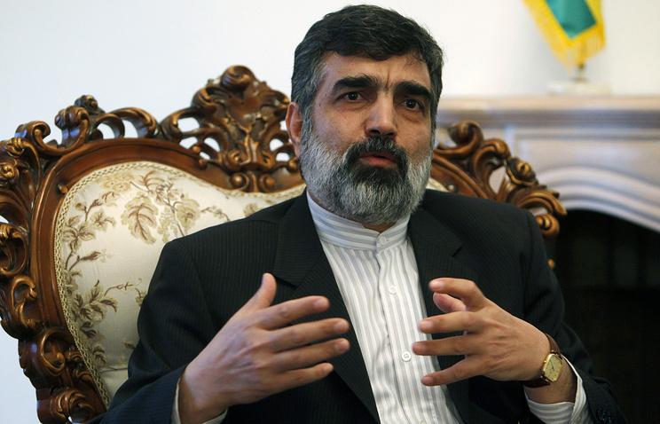 Behrouz Kamalvandi, a spokesperson for the Atomic Energy Organization of Iran