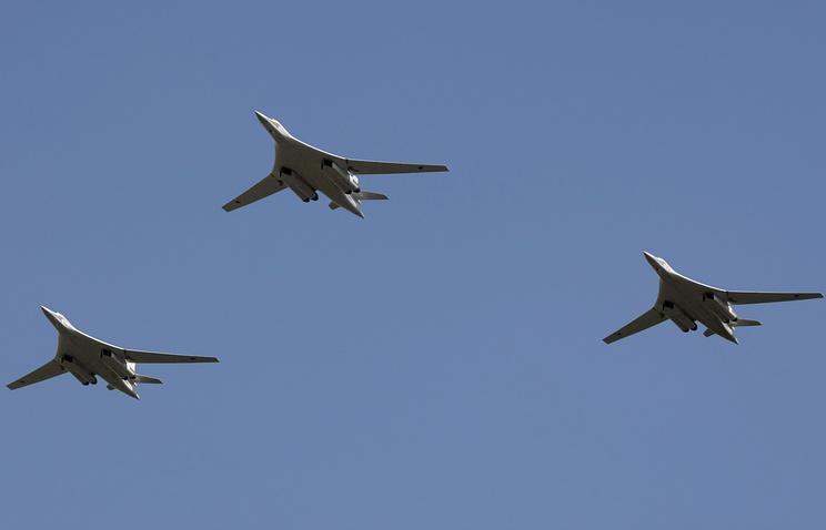 Tu-160 strategic bombers