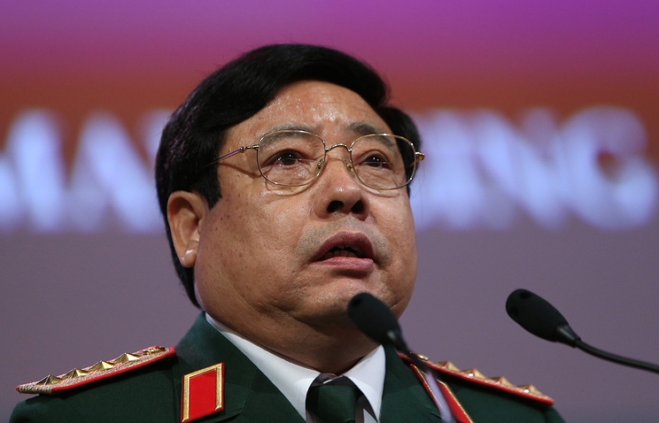 Vietnam's Defense Minister Phung Quang Thanh