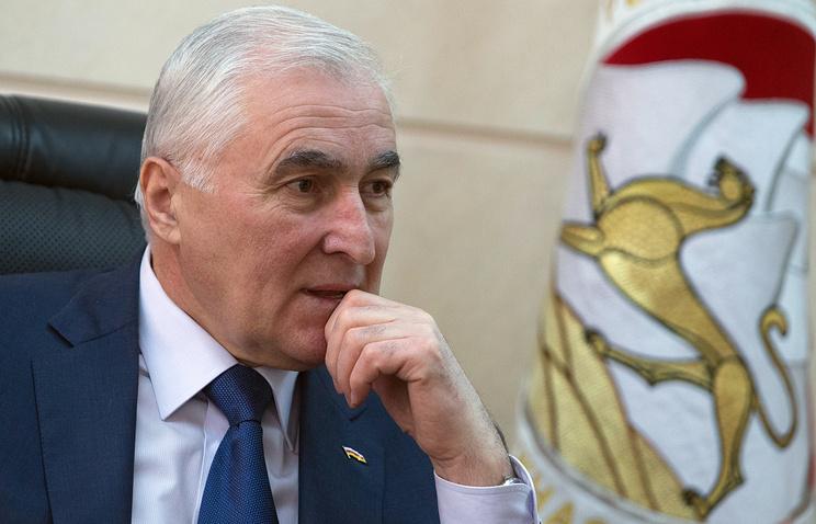 South Ossetian President Leonid Tibilov