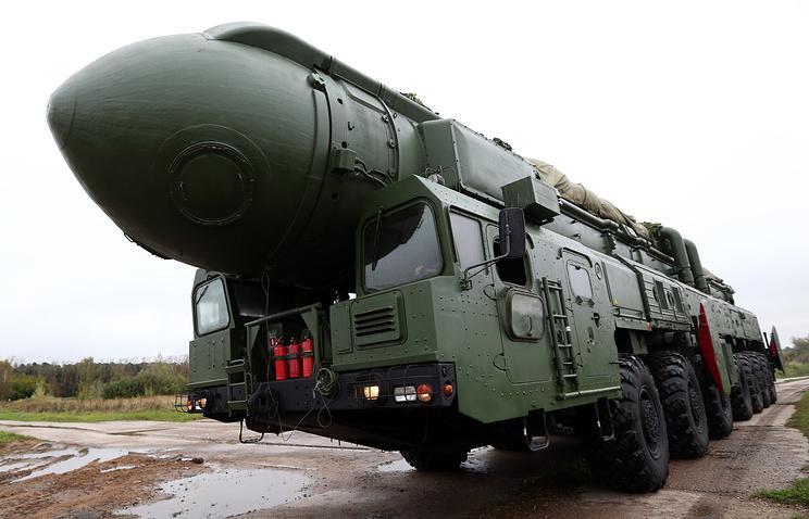 Topol-M mobile intercontinental ballistic missile