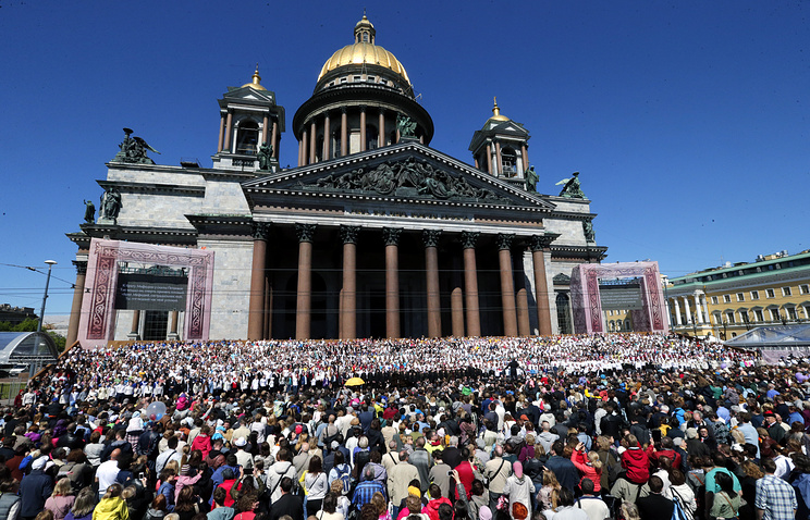 St. Isaac's Cathedral in St. Petersburg