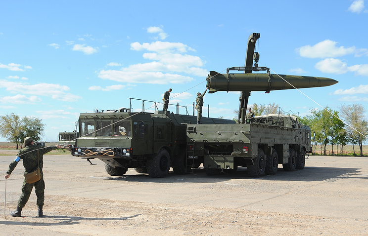 Iskander-M tactical missile systems