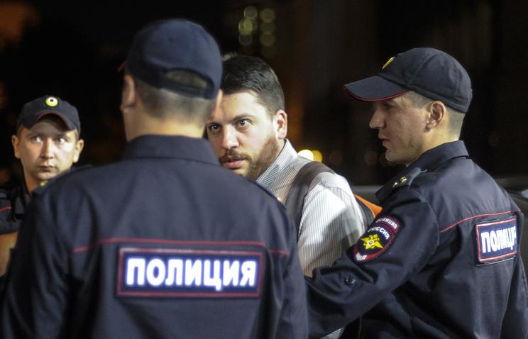 Head of the Democratic Coalition party headquarters Leonid Volkov
