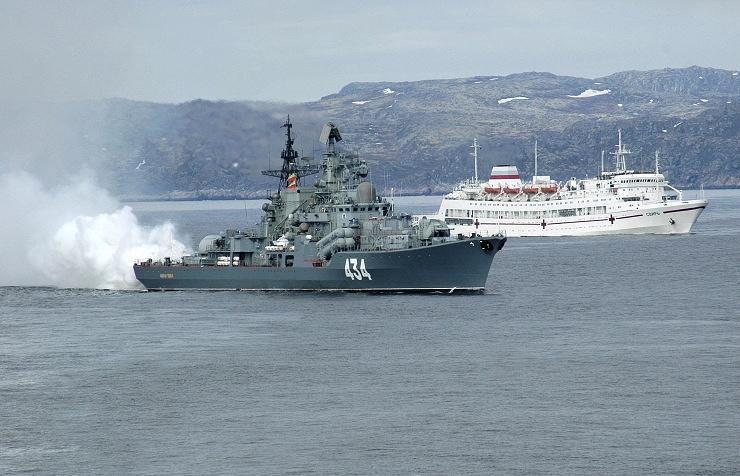 The Admiral Ushakov