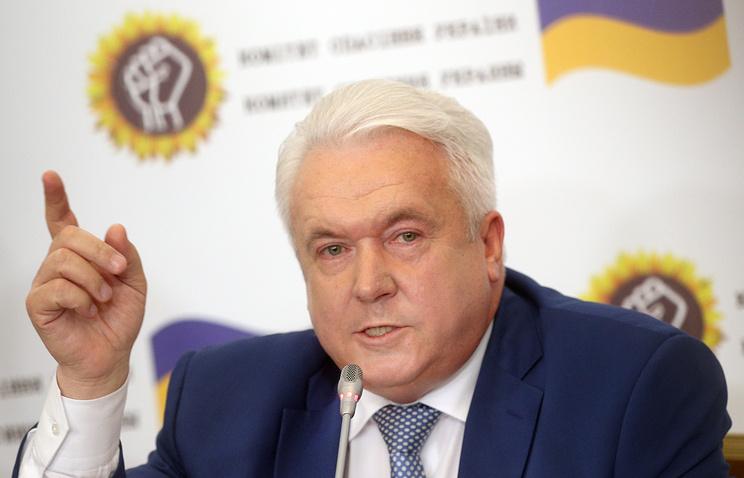Former Ukrainian lawmaker Vladimir Oleinik