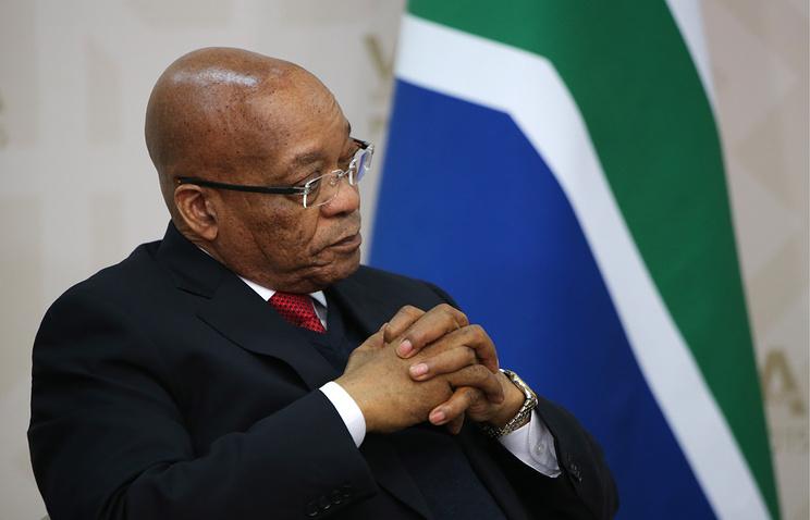 President of South Africa Jacob Zuma