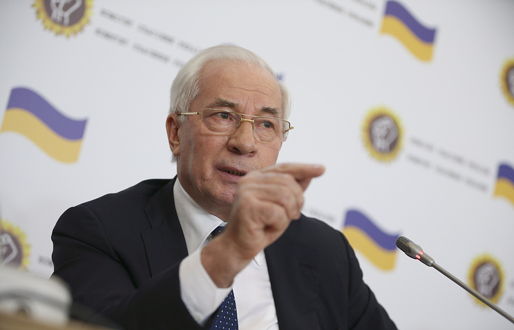 Head of the Rescue Committee of Ukraine Nikolay Azarov
