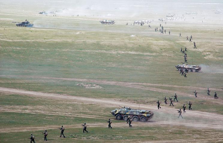 Anti-terrorist drills in Tajikistan (archive)