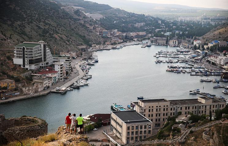 Balaklava town near Sevastopol, Crimea