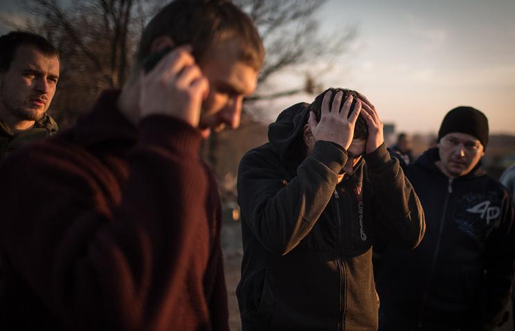 Prisoner swap in Ukraine (archive)
