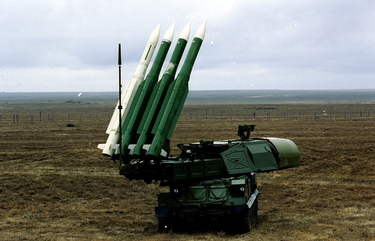 Buk-M1 air defense missile system