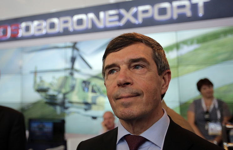 CEO of the Russian weapons exporter Anatoly Isaikin
