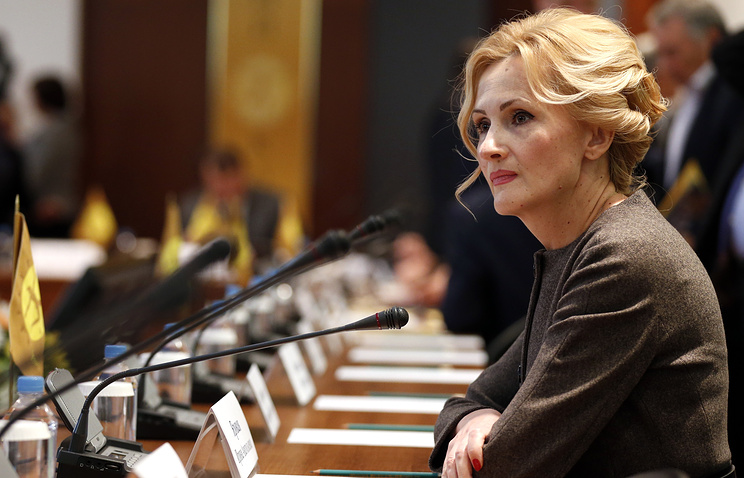 Head of the State Duma Security and Anti-Corruption Committee Irina Yarovaya