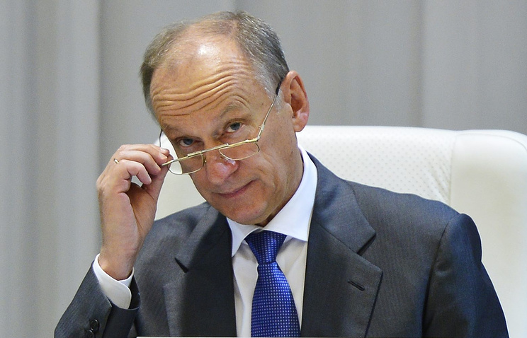 Russia's Security Council secretary Nikolay Patrushev