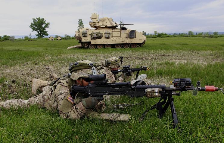 US-Georgia military exercise