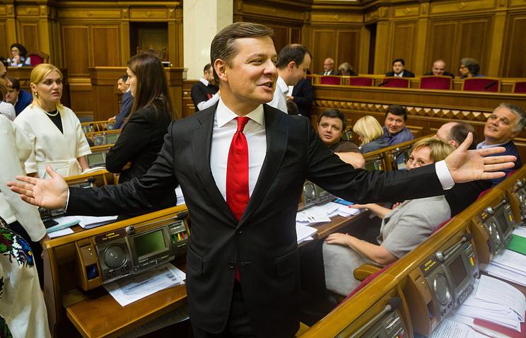 Radical Party leader Oleh Lyashko