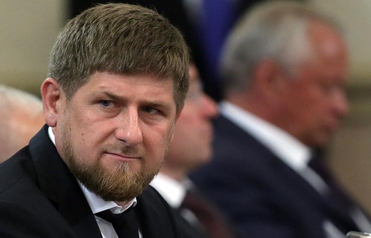 Chechnya's leader Ramzan Kadyrov