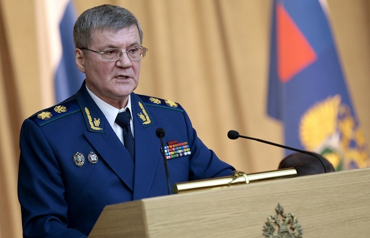 Russian Prosecutor-General Yuri Chaika