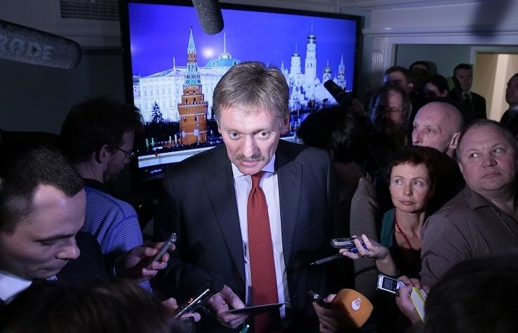 Russian presidential press secretary Dmitry Peskov