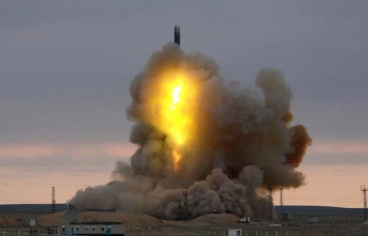 Missile launch (archive)