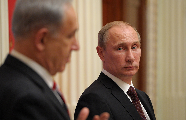 Benjamin Netanyahu and Vladimir Putin (archive)