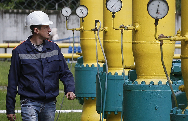Ukrainian gas storage