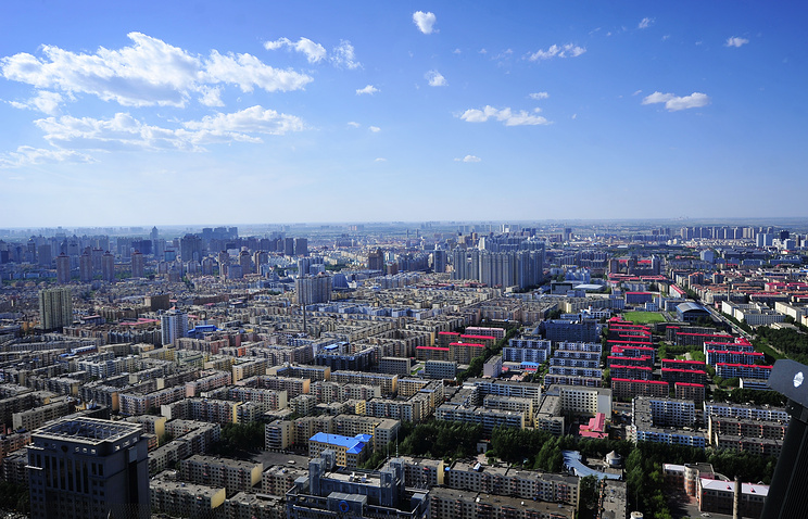 Chinese city of Harbin
