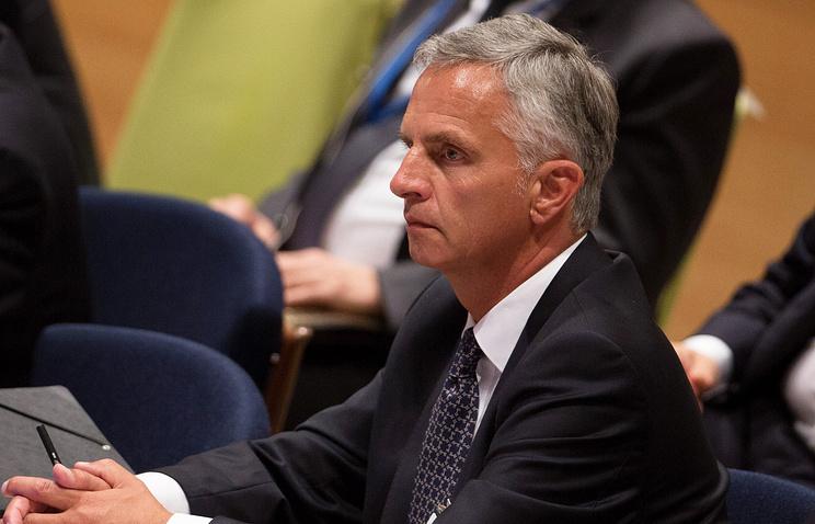 Switzerland's Foreign Minister Didier Burkhalter